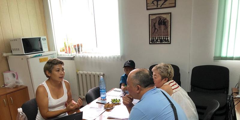 Встреча  с руководителем общественного фонда «Помогать легко» Динарой Аляевой